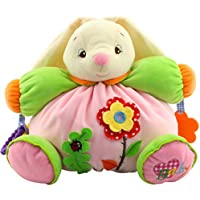 youngate Infant Chileren Rattle Rabbit人形ソフトPlush Toy Teetherギフト