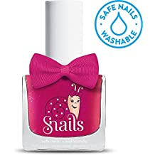 Snails Children's Nail Polish-No Parabens, Water Soluble, 24Colours Cheerleader (Pink Metallic)