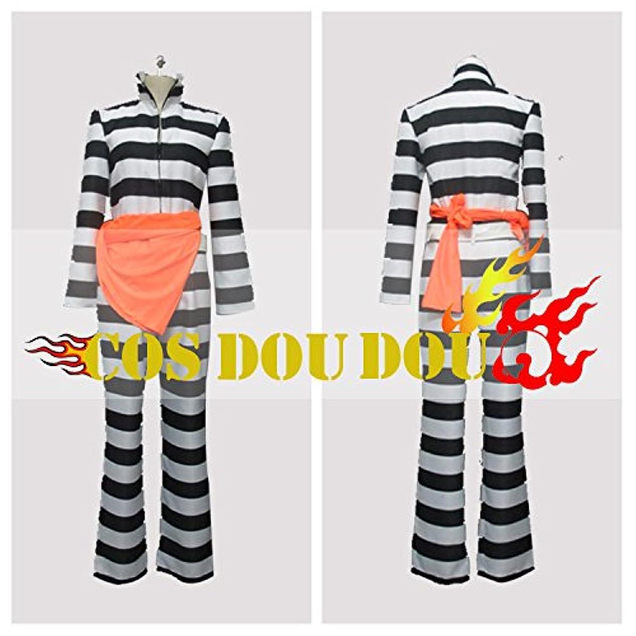 確立トレイ取得ラッキードッグ Lucky Dog1 ジャンカルロLuchino Jail Suit 囚人服 コスプレ衣装 コスチューム ハロウィン クリスマス COSPLAY (男性S)