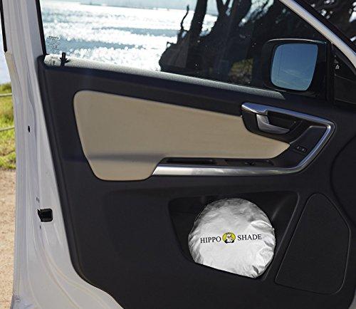 Hippo(ヒッポ)車用遮光サンシェード フロントガラス 日よけサンシェード 遮光フロントシェード 簡単取付 サンシェード 全窓カバー ジェームズのここだけセレクション