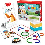 Osmo 901-00010 - Little Genius Starter Kit for iPad - 4 Hands-On Learning Games - Ages 3-5 - Problem Solving,