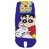 子供用 靴下 キャラクター 各種 soxk (約13~18cm, しんちゃん(パープル))kysoc564
