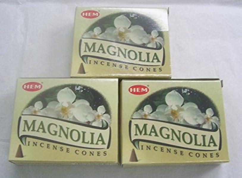 一緒に評論家必要ないHemマグノリア香コーン、3パックの10 Cones = 30 Cones