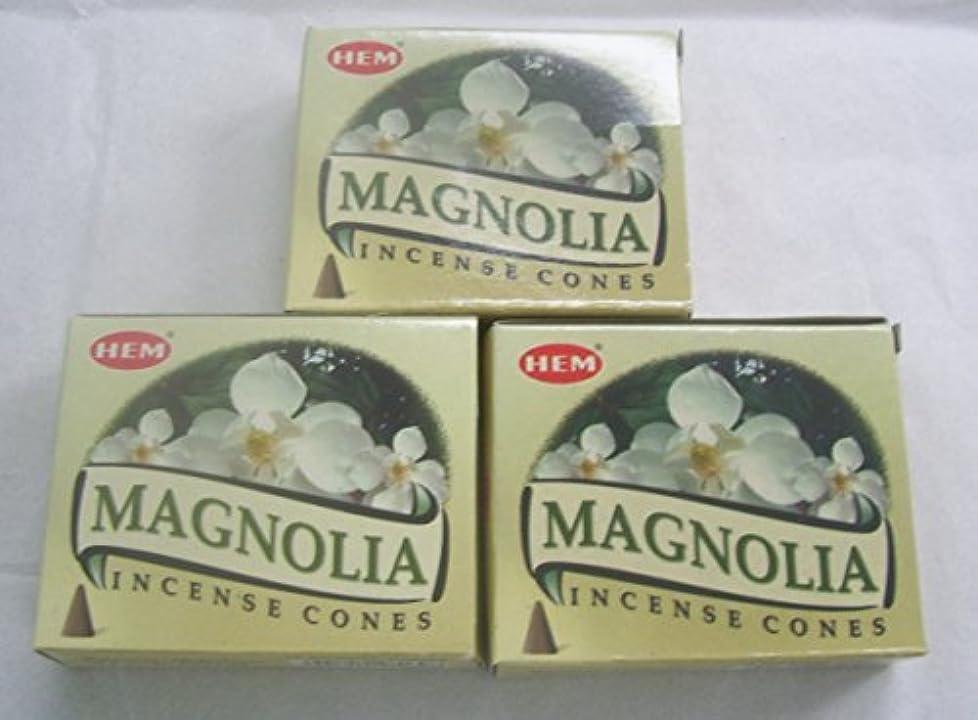ちらつき相互証言するHemマグノリア香コーン、3パックの10 Cones = 30 Cones