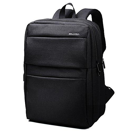 Bruarda リュック バックパック リュックサック メンズ バッグ ビジネスリュック ビジネスバック 15.6PC【USBポート付き】(黒)