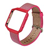 Fitbit Blaze交換バンドストラップリストバンドラージ( 6.7–8.1in)、no1seller Milanese Loopステンレススチールブレスレットストラップリストバンドfor Fitbit Blaze Smart Fitness Watch with Uniqueマグネットロック