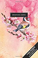 """Bird Watching Birding Ornithology Journal Log Book - Sparrow Cherry Flower: Ornithologist Bird Identification Notebook Field Diary Notepad with 110 Pages in 6"""" x 9"""" Inch Birder Record for Spotting Observation Tracking Documentation"""