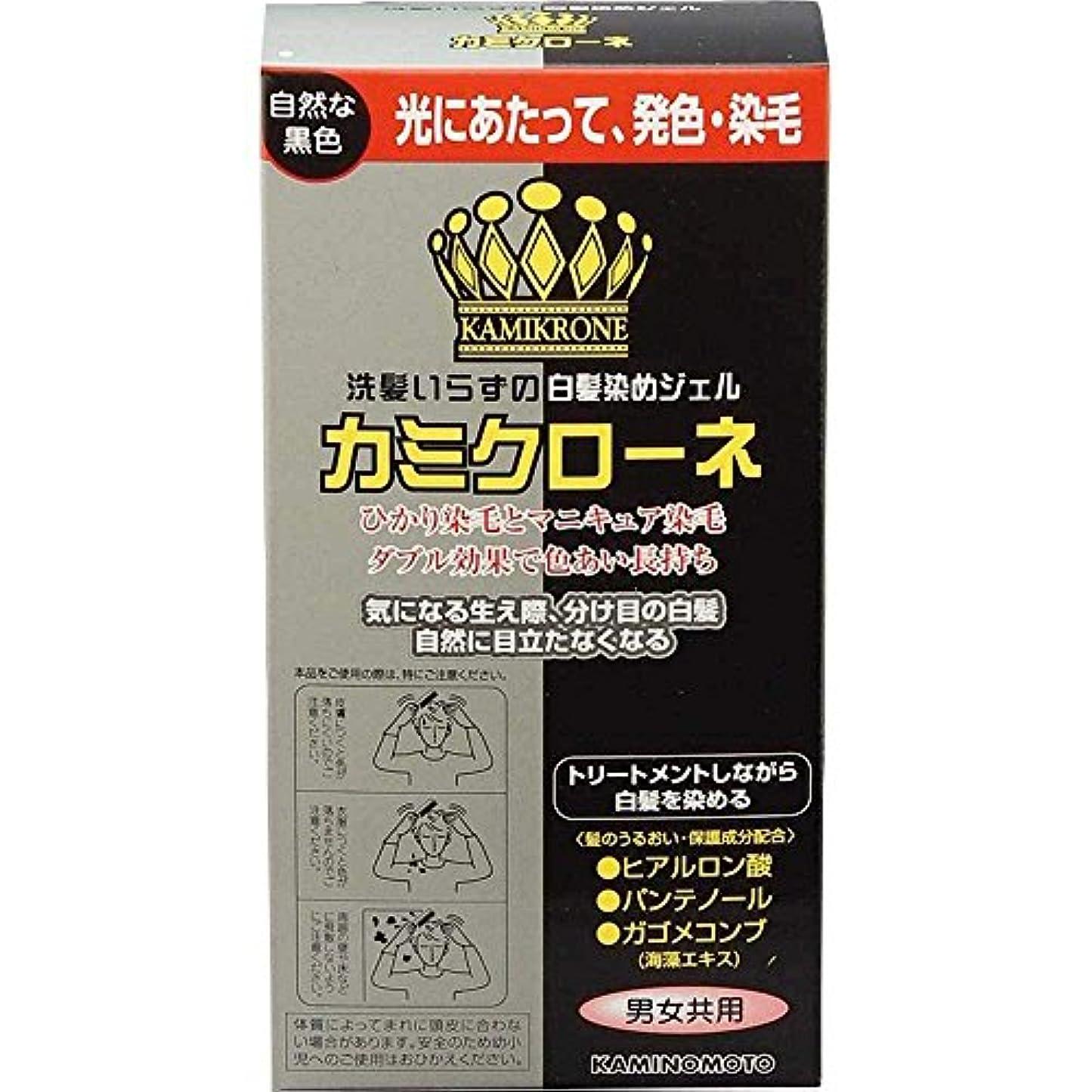 非難側ピッチ加美乃素 カミクローネ ナチュラルブラック 80ml×6個