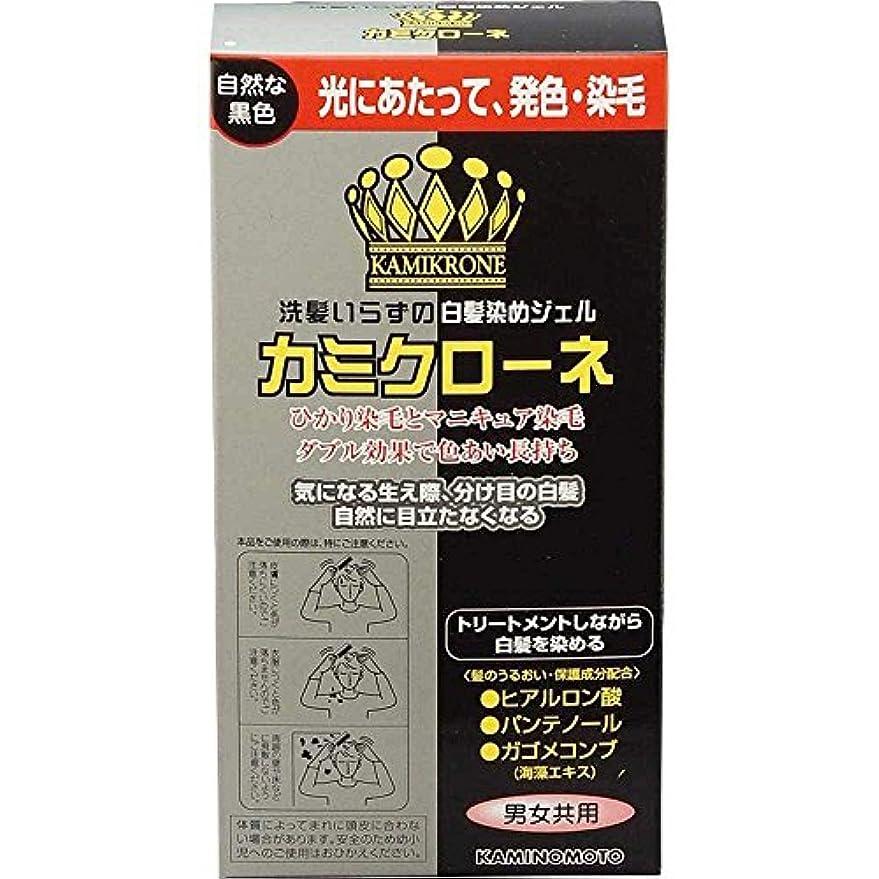 定説定説倉庫加美乃素 カミクローネ ナチュラルブラック 80ml×6個