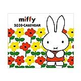 スクエア ミッフィー 2020年 カレンダー 壁掛け 白 BCA-4 (2019年 12月始まり)