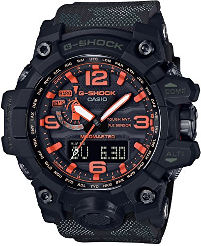 [カシオ]CASIO 腕時計 G-SHOCK マッドマスター Maharishi タイアップモデル 世界6局対応電波ソーラー GWG-1000MH-1AJR メンズ