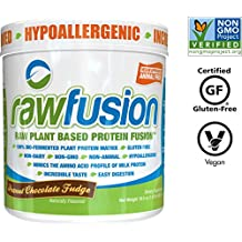 SAN Nutrition Raw Fusion Plant Based Protein Fusion - Peanut Chocolate Fudge - 466g