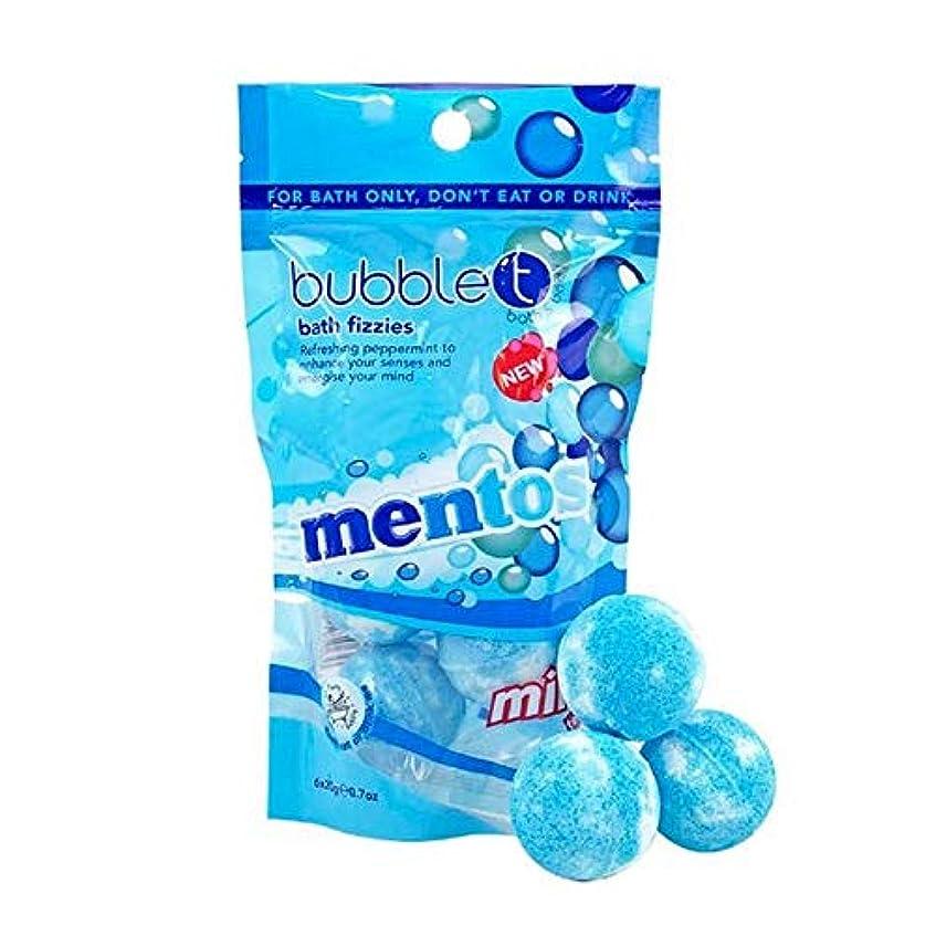 焦げ損傷別れる[Bubble T ] バブルのTメントスミントミニ風呂爆弾の20グラム - Bubble T Mentos Mint Mini Bath Bombs 20g [並行輸入品]