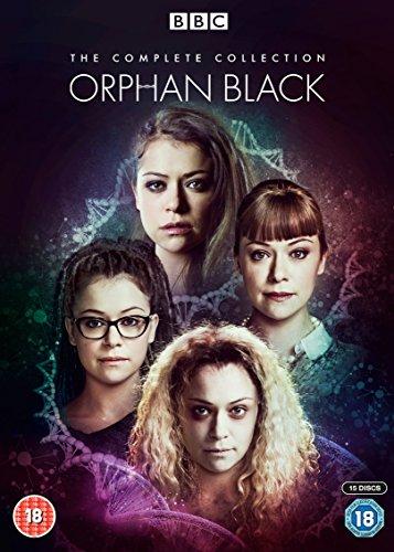 オーファン・ブラック 暴走遺伝子 コンプリートBOX(シーズン1〜5) [DVD PAL方式 ※日本語無し](輸入版) -Orphan Black - The Complete Collection-