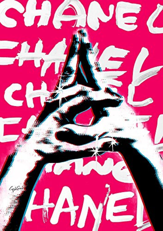 Craig Garcia アート ポスター Sign language C 01 A4 (210×297mm) ppcgslc01-a4