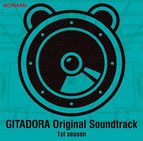 [画像:GITADORA Original Soundtrack 1st season]