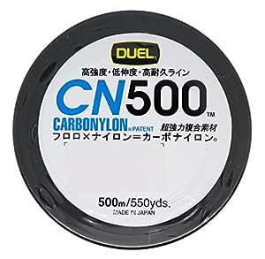 デュエル(DUEL) ライン(カーボナイロン): CN500 500m 2号 Y: イエロー