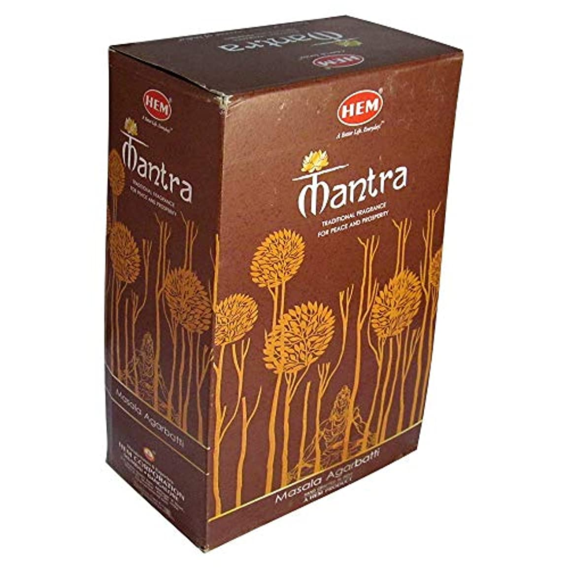 反響するポンプ値下げHEM香Mantraミックスボックス。