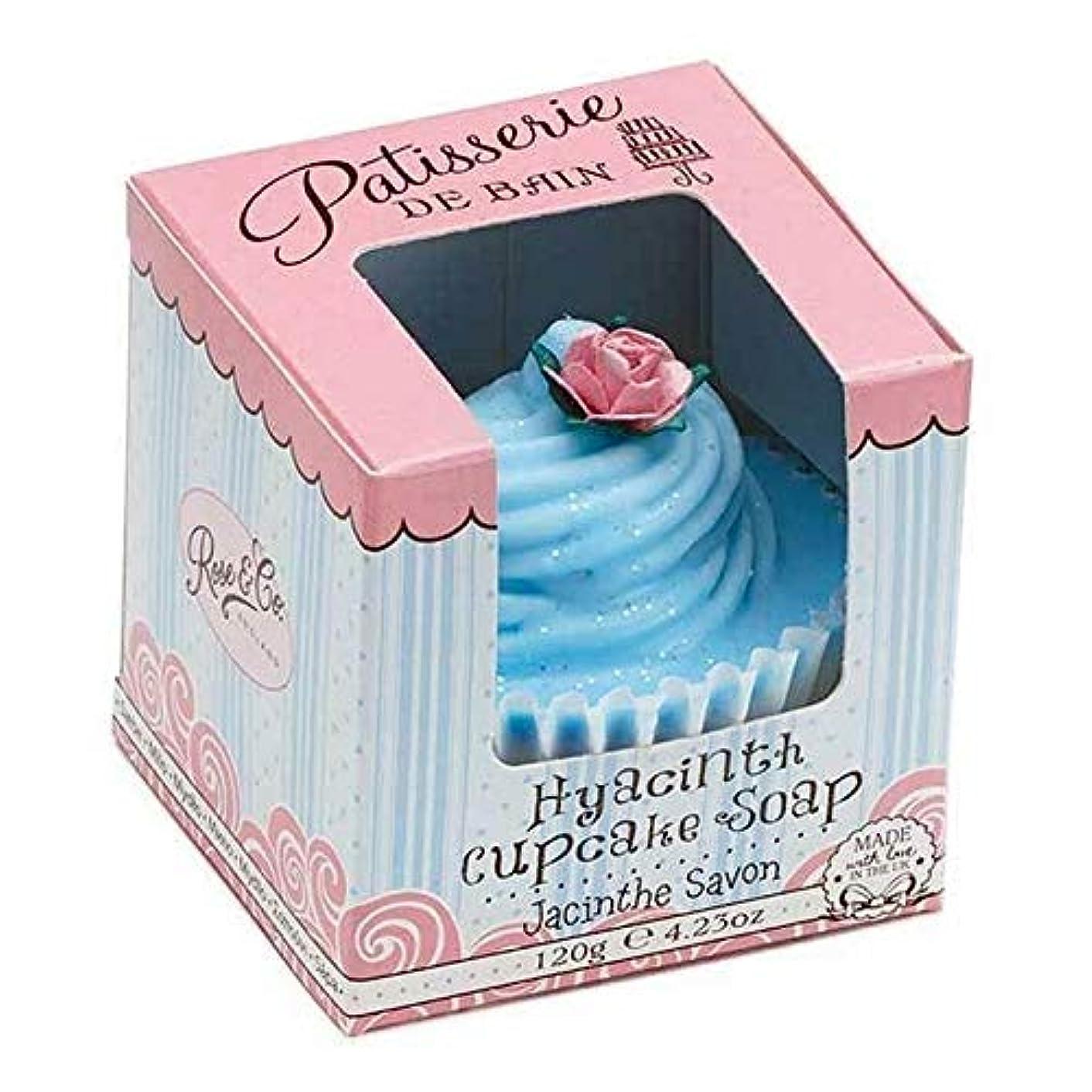 狂信者非互換ウェイター[Patisserie de Bain ] パティスリー?ド?ベインヒヤシンスカップケーキソープ120グラム - Patisserie de Bain Hyacinth Cupcake Soap 120g [並行輸入品]