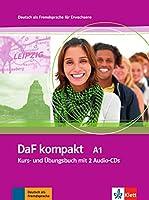 DaF Kompakt in 3 Banden: Kurs- und Ubungsbuch A1 mit 2 Audio-CDs