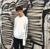 【ニコモモ】nikomomo BIGBANG BEAR韓流グッズ/長袖/ファッション/ トレーナー パーカーbigbangファッション/ BIGBANG パーカー/男女兼用/G-DRAGON/BIGBANG/bigbang 服/ビックバン (L, ホワイト)