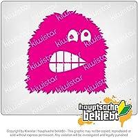 ファジーモンスターコミック Fuzzy monster comic 10cm x 10cm 15色 - ネオン+クロム! ステッカービニールオートバイ