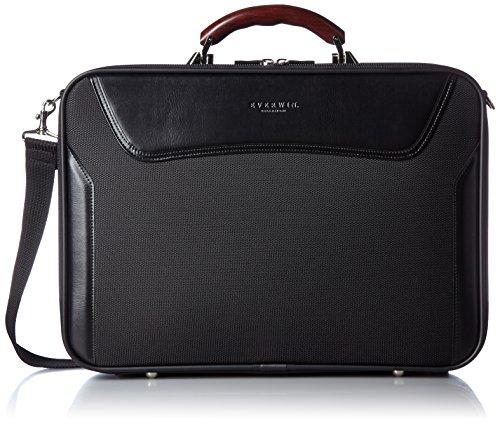 [エバウィン] ビジネスバッグ 日本製 アタッシェケース EW21577 BK ブラック