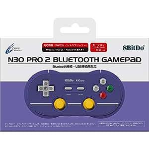 【Nintendo Switch / レトロフリーク対応】 8BitDo N30 Pro 2 Bluetooth GamePad C Edition - Switch