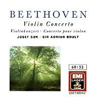 Beethoven: Violin Concerto, Romances / Suk, Boult, Marriner