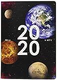 アーティミス 手帳 2020年 B6 マンスリー クリアプラネット 惑星 20WMB6-CP (2019年 10月始まり)