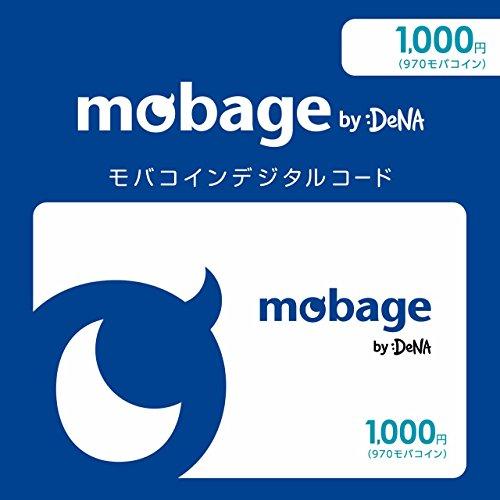 Mobageモバコインデジタルコード 1,000円(970モ...