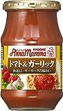 カゴメ アンナマンマ トマト&ガーリック 330g×6個