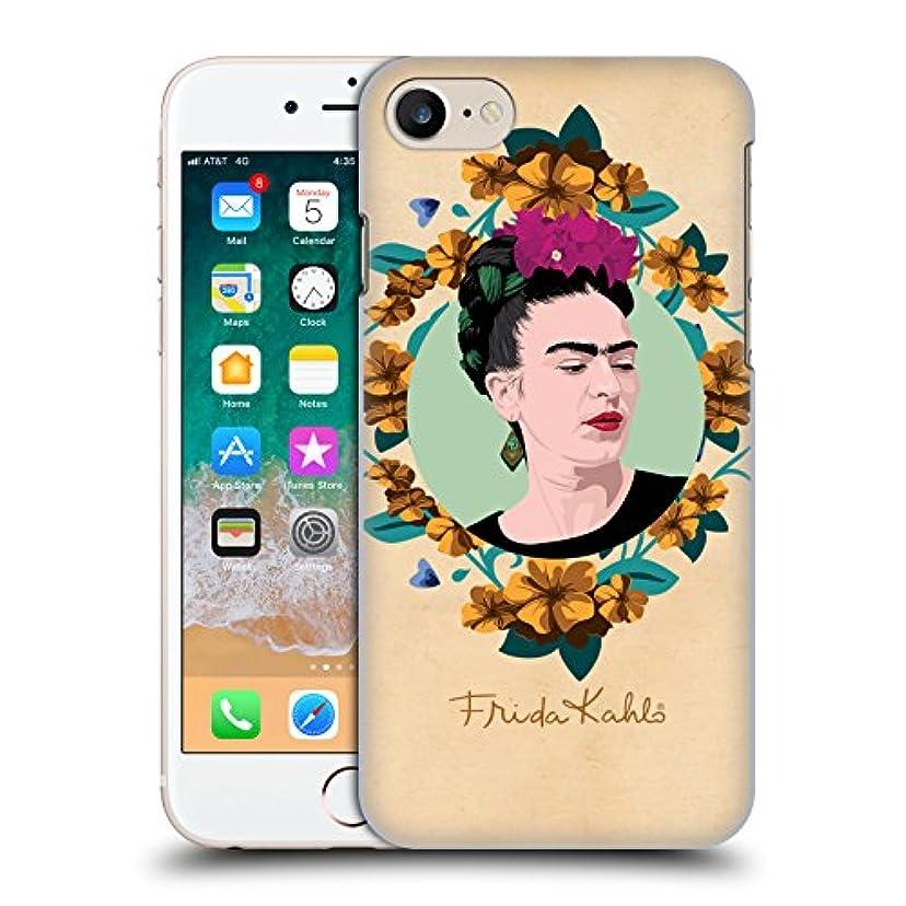 何十人も少ない構築するオフィシャル Frida Kahlo パープル ポートレイト Apple iPhone 7 / iPhone 8 / iPhone SE 2020 専用ハードバックケース