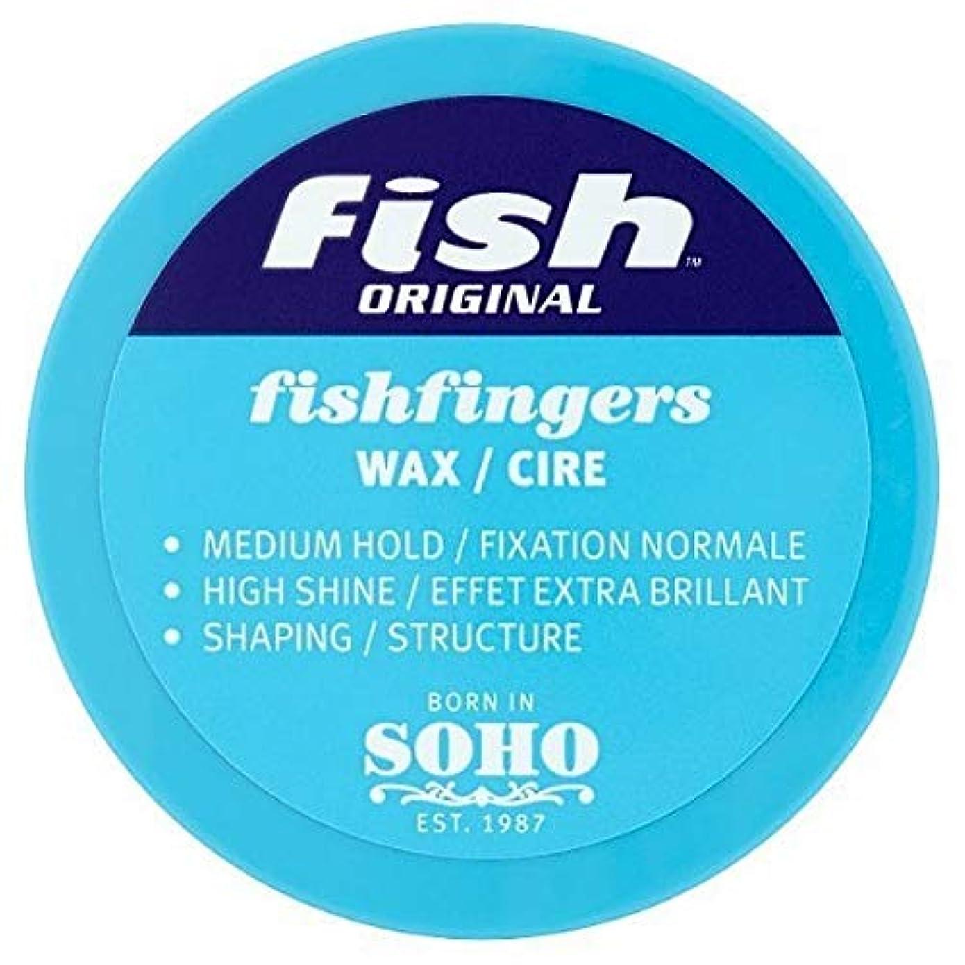 つらいマイルストーン療法[Fish Soho] ワックス100ミリリットルを定義する魚本来のFishfingers形状 - Fish Original Fishfingers Shape Defining Wax 100ml [並行輸入品]