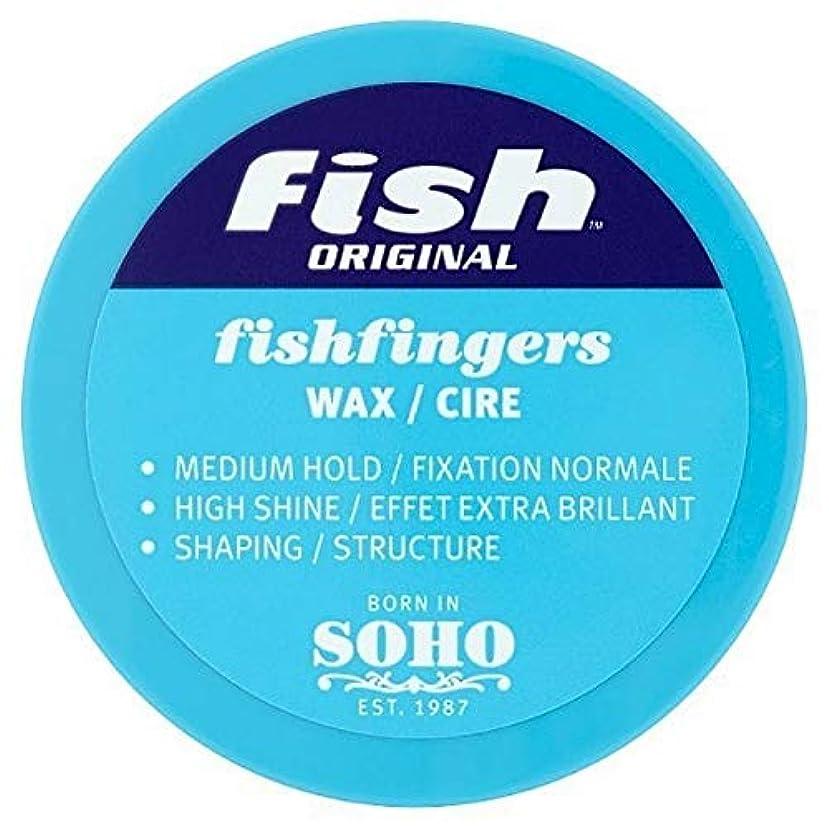 誰でも海洋のスリップ[Fish Soho] ワックス100ミリリットルを定義する魚本来のFishfingers形状 - Fish Original Fishfingers Shape Defining Wax 100ml [並行輸入品]