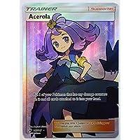 Pokemon, S & M, Burning Shadows, Acerola 142/147, Full Art, New, Mint