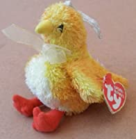 ty basket beanies chickie the baby chicken stuffed animal plush ornament