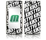 MusicSkins Xperia ray 用保護フィルム KIKS TYO - Logo Xperia ray MSXRAYO029