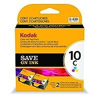 Kodak 1829993 COLOR10C Ink Cartridge TWO-PACK [並行輸入品]
