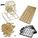 ロイヤルBingo Supplies Wooden Bingo Game