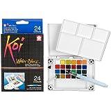 KOI Watercolors Field Box Set of 24 Colors