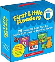 First Little Readers: Guided Reading Level B (Parent Pack): 25 Irresistible Books That Are Just the Right Leve
