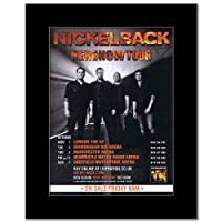 NICKELBACK - UK Tour 2012 Mini Poster - 28.5x21cm