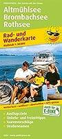 Altmuehlsee - Brombachsee - Rothsee 1 : 50 000: Rad- und Wanderkarte mit Ausflugszielen, Einkehr- & Freizeittipps