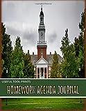 Useful Tool Prints Homework Agenda Journal: Homework Organizer Homework Assignment Planner 50 Pages 8.5
