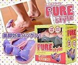 履くだけでモデル脚に☆ ピュアスタイル HTB-S001 (パープル)
