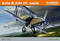 エデュアルド 1/72 プロフィパック チェコ空軍 アビア B.534 4型 プラモデル EDU70102