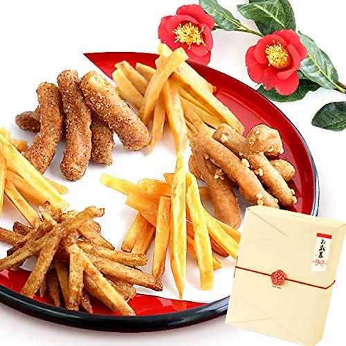 ギフト お歳暮 お芋かりんとう 詰め合わせ 和菓子ギフト (6種・BOX入り)
