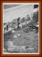 ポスター クリストファー ウール October 17 ? November 14 1992年 額装品 ウッドハイグレードフレーム(ナチュラル)