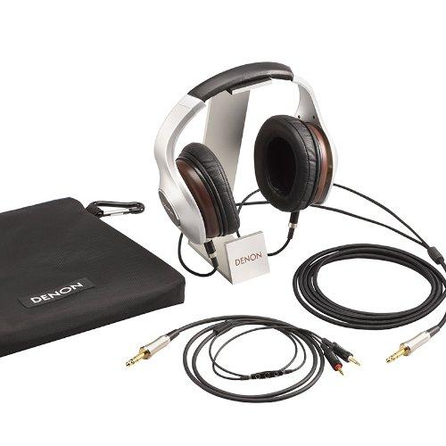 DENON AH-D7100EM MUSIC MANIAC 密閉型オーバーヘッドヘッドホン リケーブル/ハイレゾ音源対応 ブラック